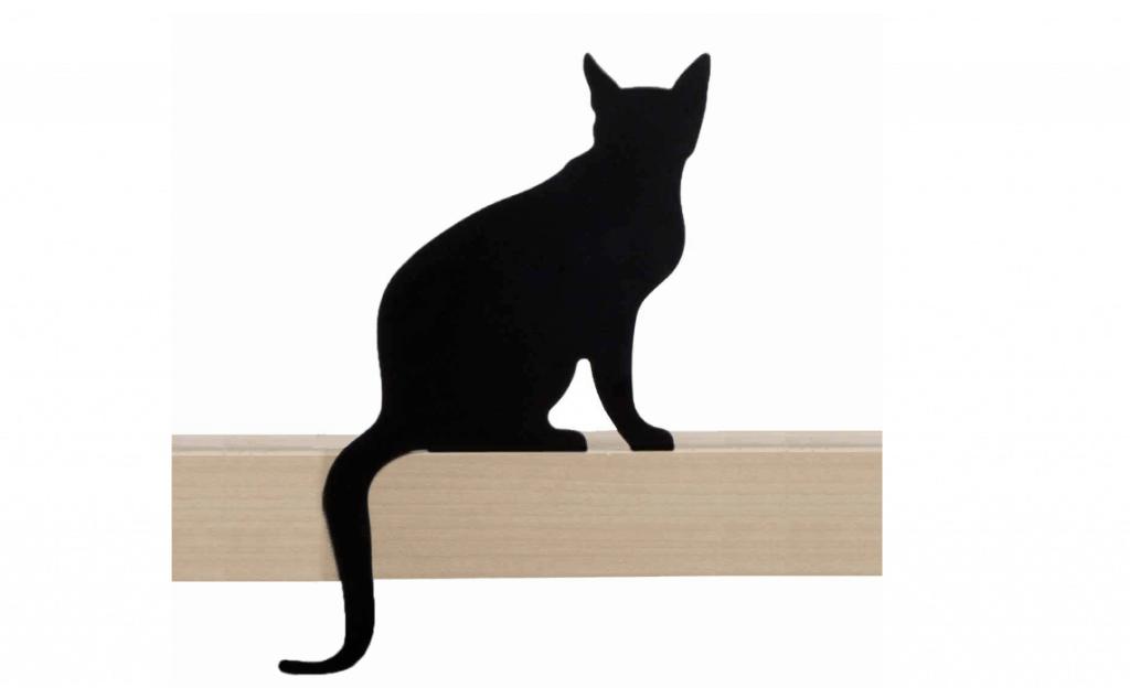 מתנה-פסלון-חתול-למדף