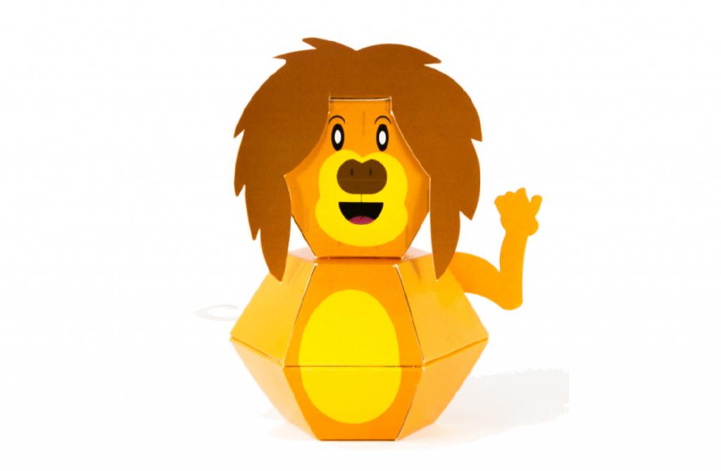 בובה בהפתעה - אריה