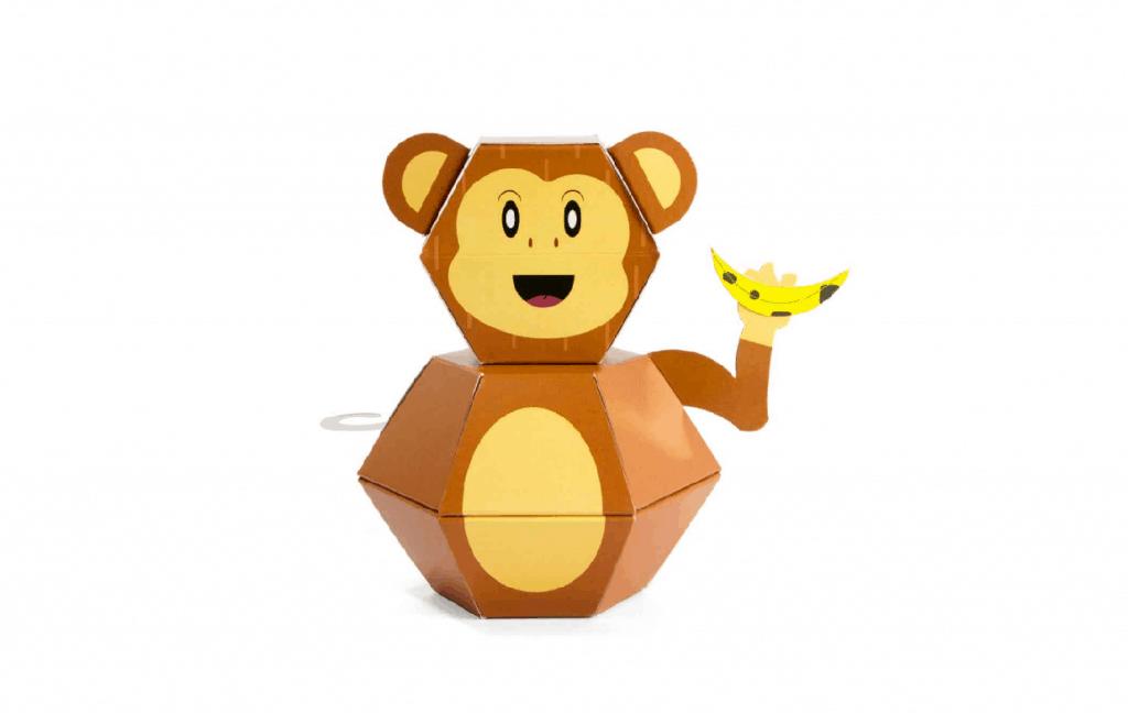 מתנה - בובה בהפתעה קוף